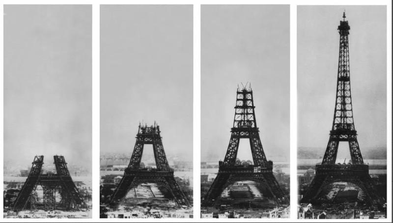 História Torre Eiffel