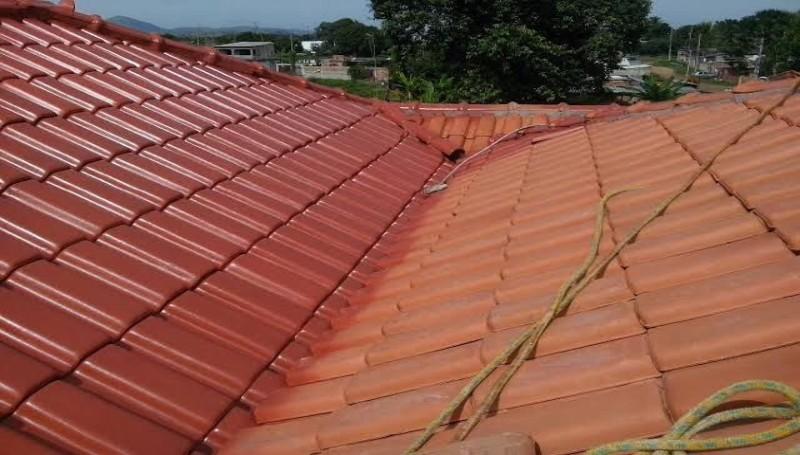 Impermeabilização de telhas
