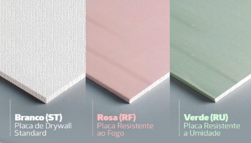 Tipos de placa de drywall
