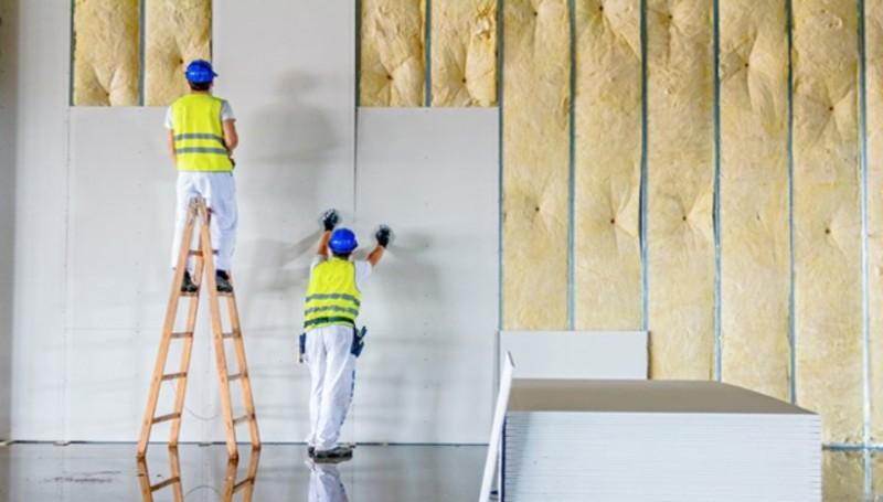 Colocação de placas em Drywall